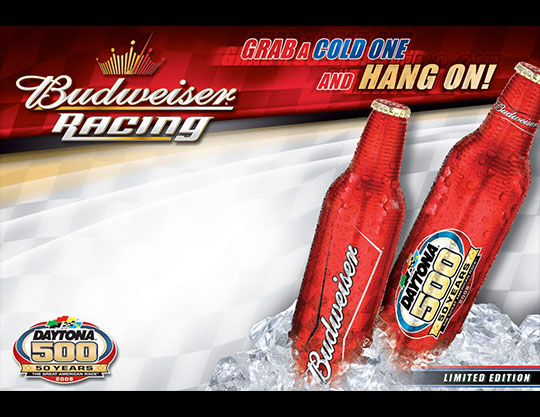 Budweiser-Daytona-500-Aluminum-Bottles-Promotion-by-MOTO-Marketing-Group