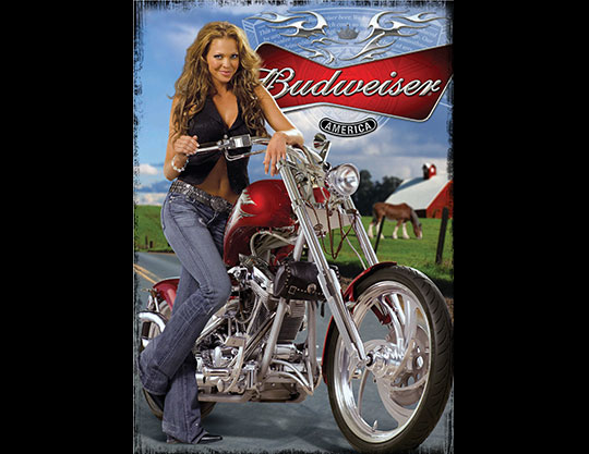 Budweiser-Motorcycle-Model-Poster-by-MOTO-Marketing-Group