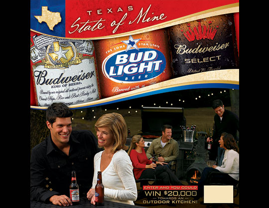 Budweiser - texas-holiday add by MOTO Marketing Group