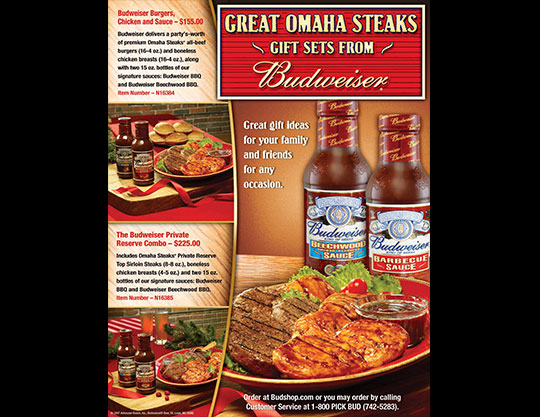 Buweiser-Omaha-Steaks-Promotion-by-MOTO-Marketing-Group