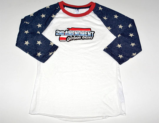 2nd Amendment - Ladies-Baseball-JerseyBy MOTO Marketing Group