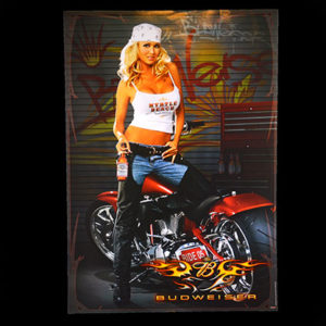 Budweiser-Biker-Babe-2005-Myrtle-Beach-Bike-Week-Big-Dog-Motorcycle-Poster