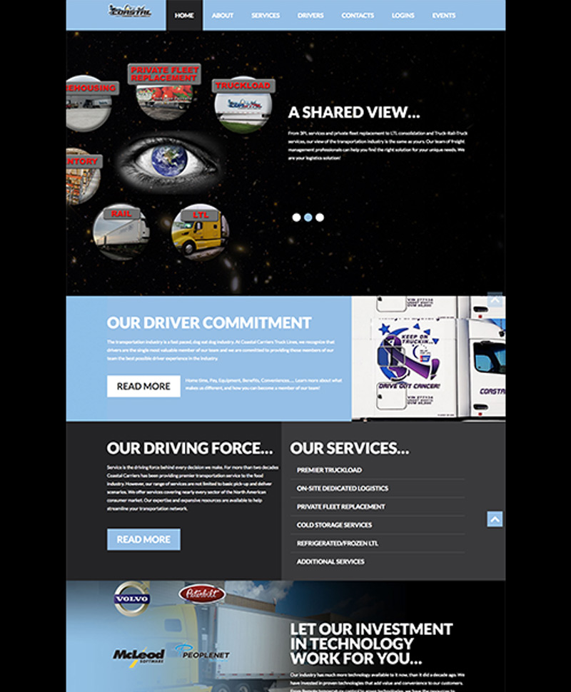 Moto Marketing Group Websites - coastalcarriers-home-1490379974391