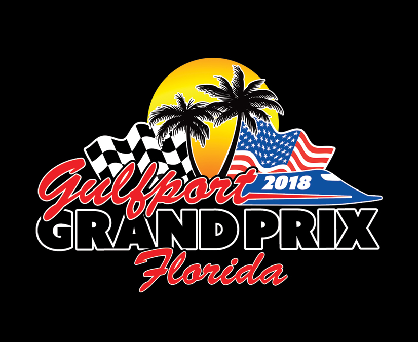 Gulfport Grand Prix Logo by MOTO Marketing Group