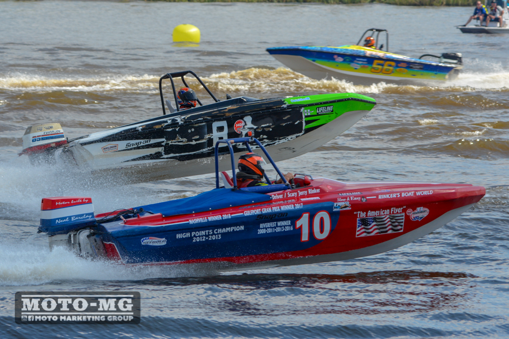 NGK F1 Powerboat Championship Orange, TX Tri Hulls 2018 MOTO Marketing Group-54