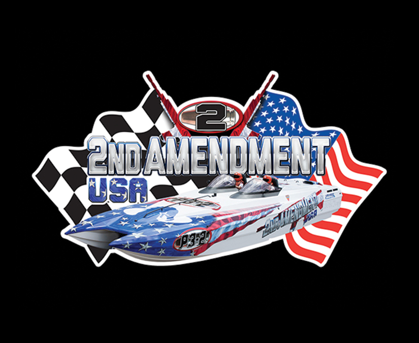 2nd Amendment USA Boat Logo by MOTO Marketing Group
