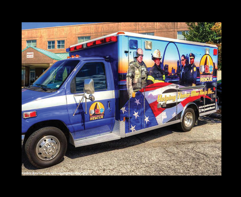 Ambulance Wrap Design by MOTO Marketing Group