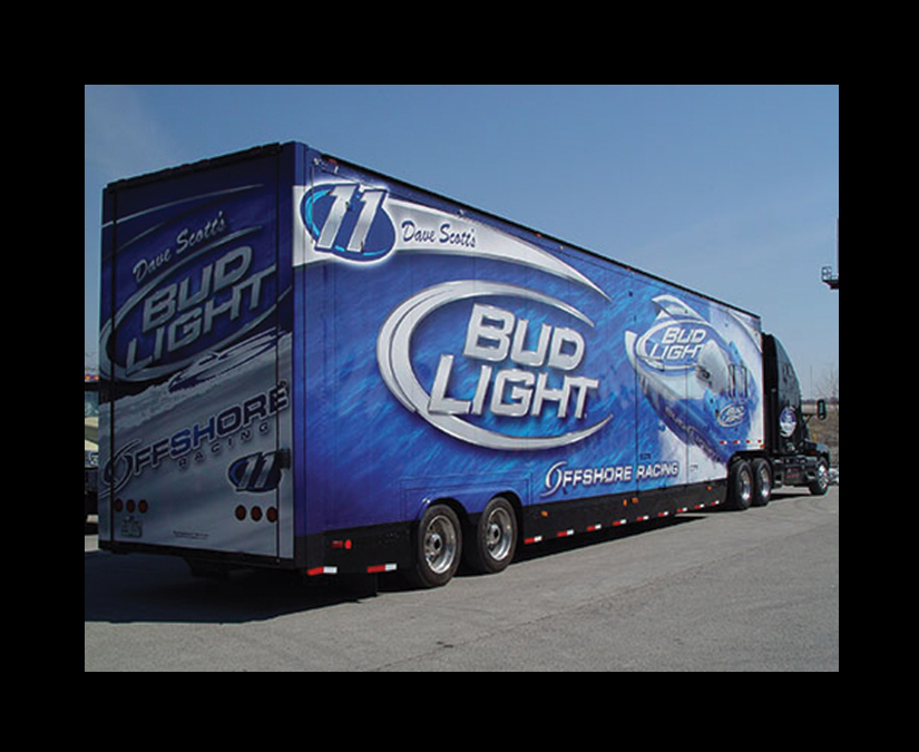 Bud Light Offshore Trailer by MOTO Marketing Group