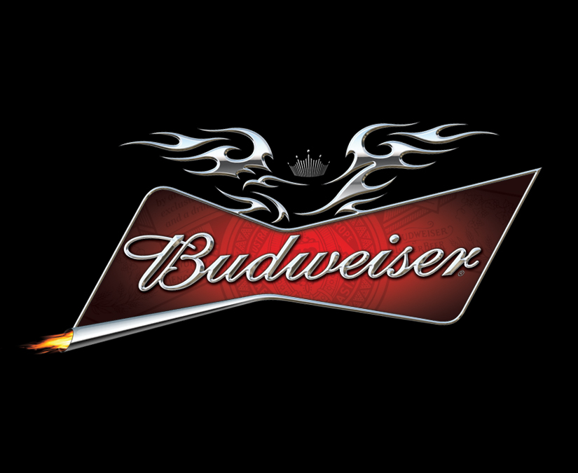 Budweiser Motorcycle Logo by MOTO Marketing Group