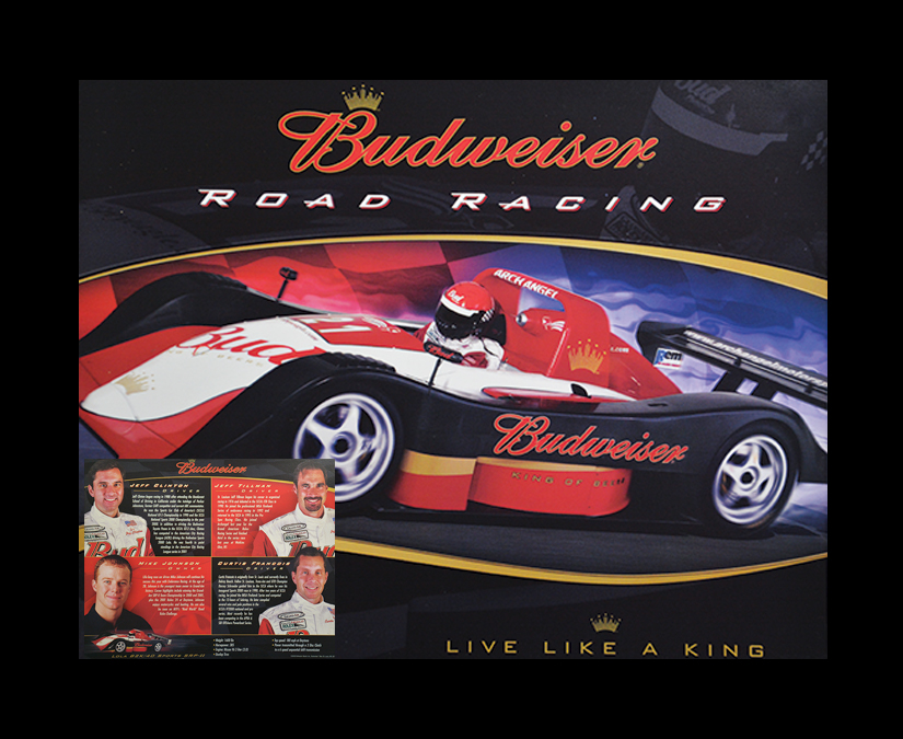 Budweiser Road Racing by MOTO Marketing Group