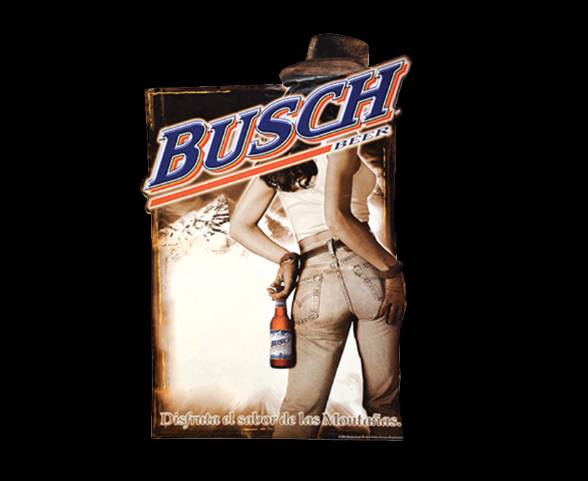Busch Beer Point of Sale by MOTO Marketing Group