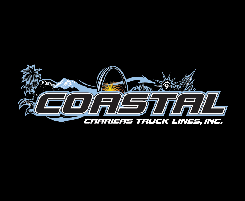 Coastal Carriers Truck Lines Logo by MOTO Marketing Group