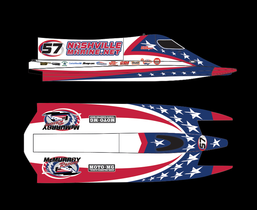 F1 Boat Design by MOTO Marketing Group