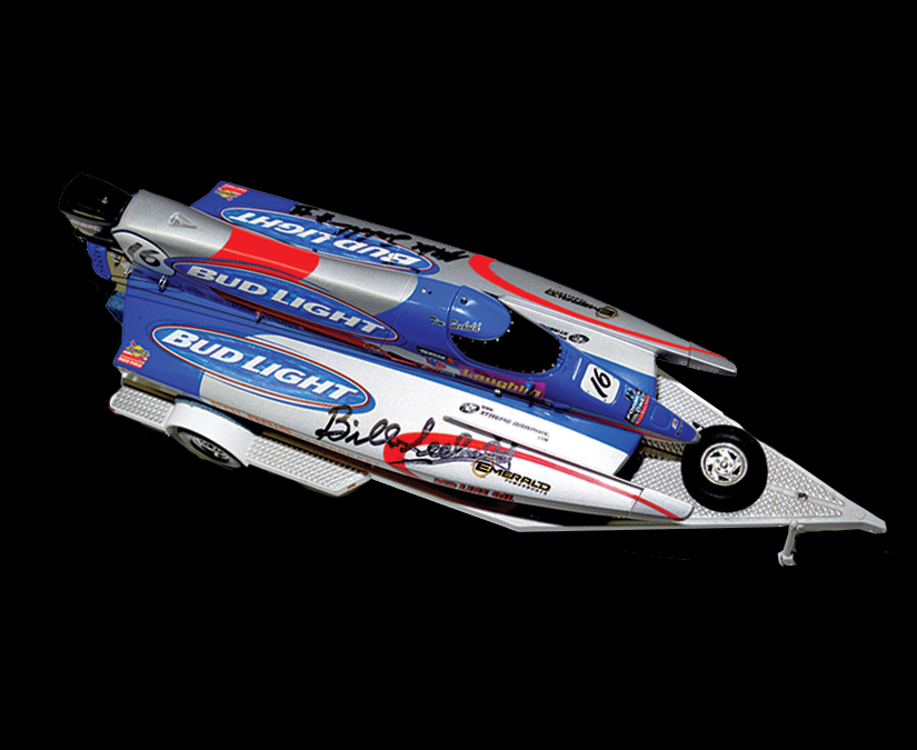F1 Bud Light Boat 1_16th scale model by MOTO Marketing Group
