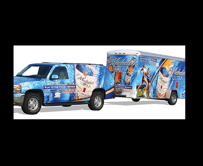 Michelob WrapDesign by MOTO Marketing Group