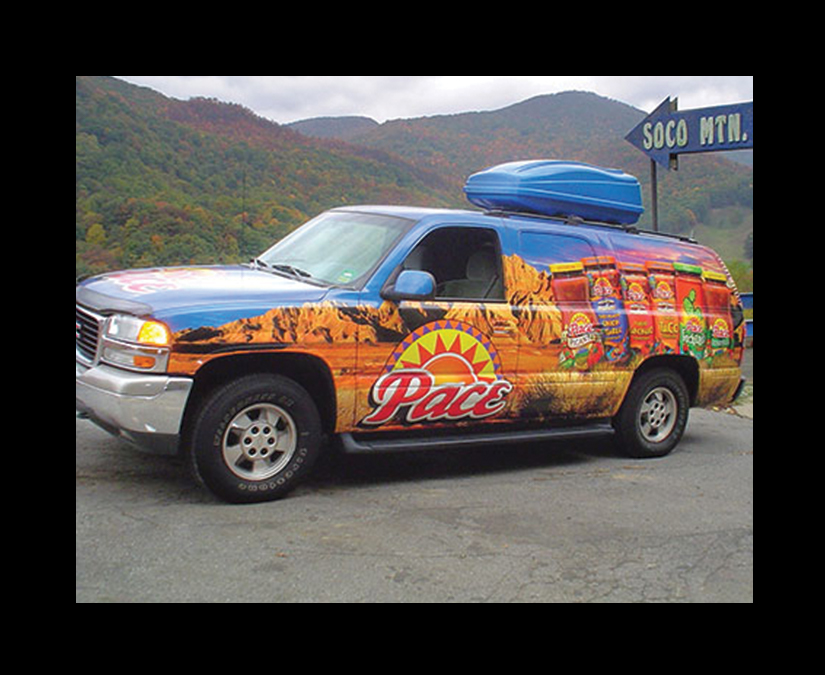 Pace Vehicle Wrap by MOTO Marketing Group