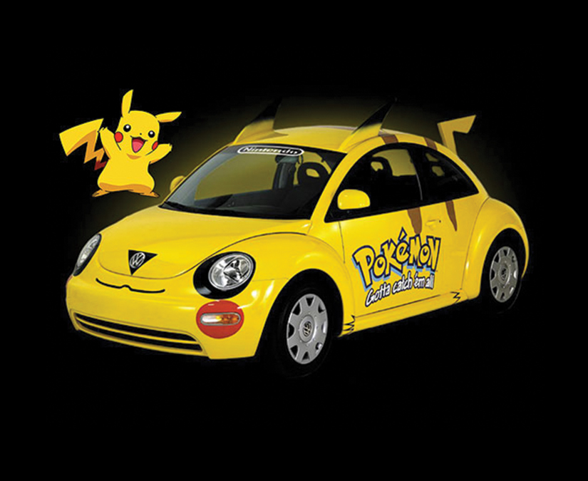 Pokemon Vehicle Wrap by MOTO Marketing Group