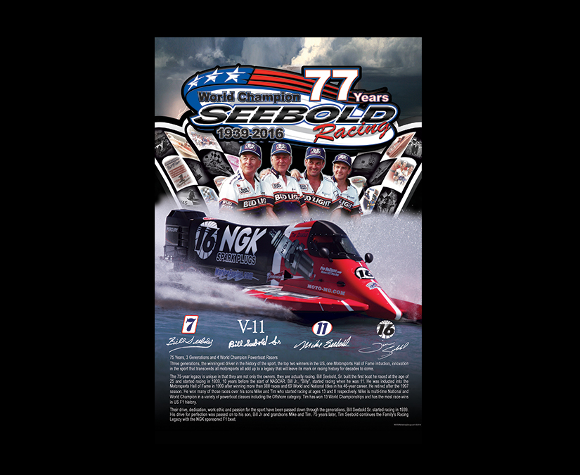 Racing Poster by MOTO Marketing Group