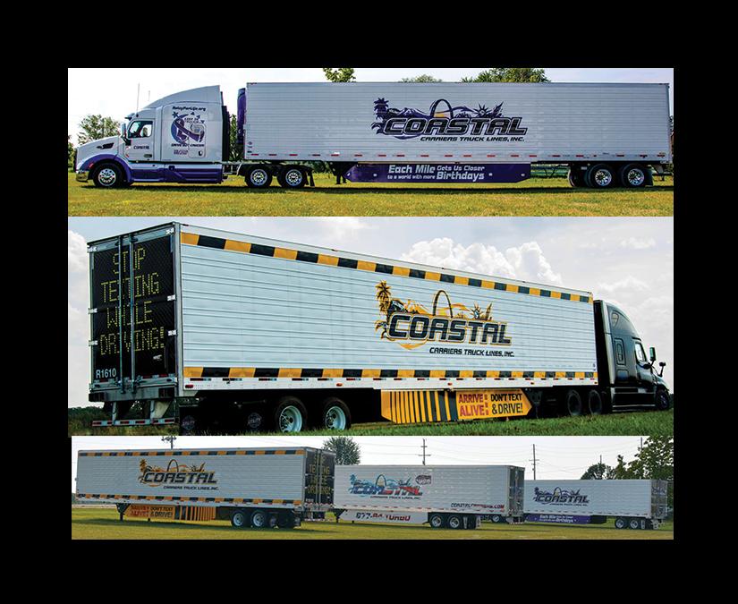 Truck Fleet Branding by MOTO Marketing Group