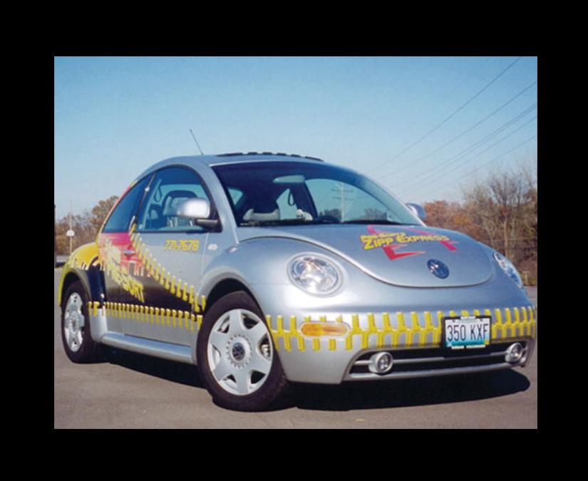 VW Wrap Design by MOTO Marketing Group