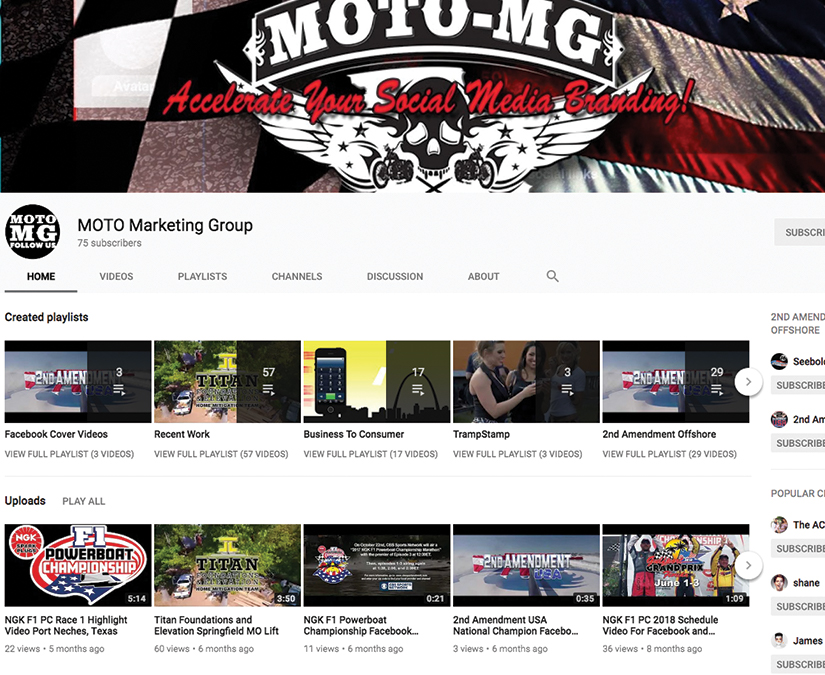 Video Development by MOTO Marketing Group