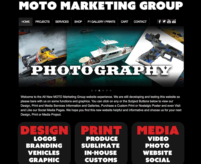Website Development by MOTO Marketing Group
