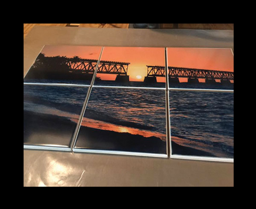 Sublimation Tile Printing by MOTO Marketing Group